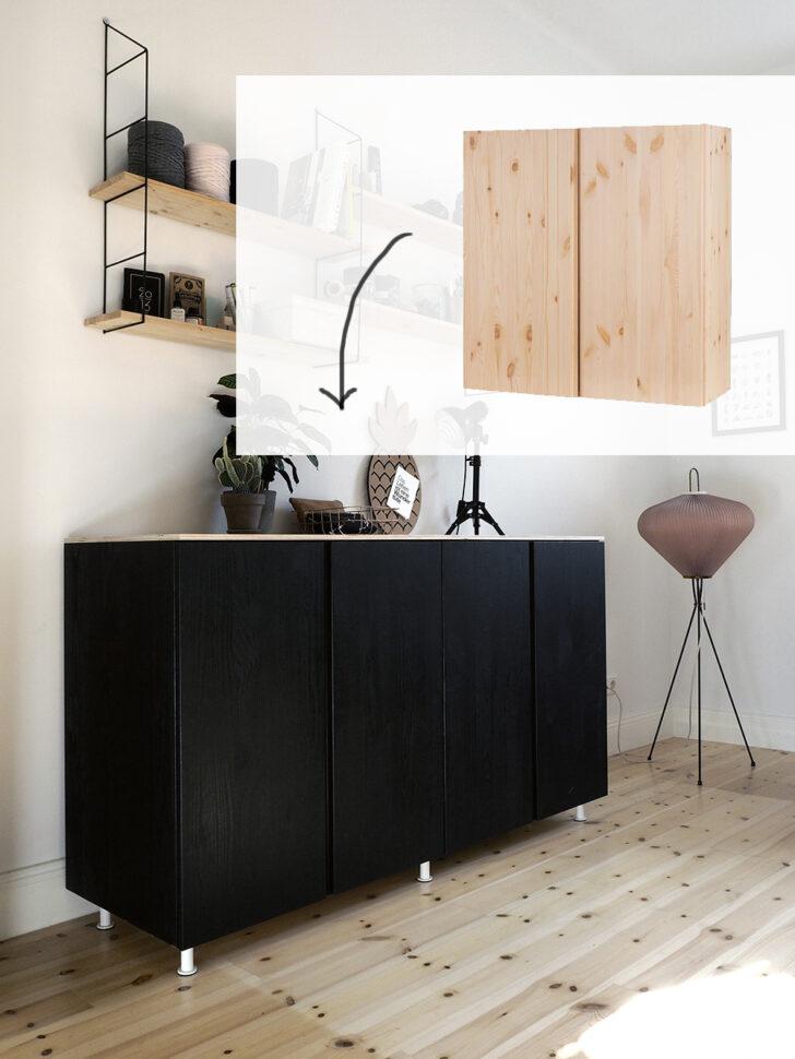 Medium Size of Ikea Wohnzimmerschrank Weiß Hack Wie Du Aus Ivar Schrnken Ein Cooles Sideboard Machst Küche Kosten Bad Hängeschrank Badezimmer Hochschrank Hochglanz Betten Wohnzimmer Ikea Wohnzimmerschrank Weiß
