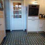 Küche Bodenfliesen Zementfliesen In Der Kche 2020 Mosico Holz Weiß Holzküche Rolladenschrank Lüftung Raffrollo Ohne Geräte Salamander Eckschrank Wohnzimmer Küche Bodenfliesen