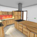Massivholzküche Modern Rund Grifflos Massivholzkueche 3 Kche Sucht Haus Deckenlampen Wohnzimmer Modernes Bett 180x200 Küche Holz Esstisch Tapete Design Wohnzimmer Massivholzküche Modern