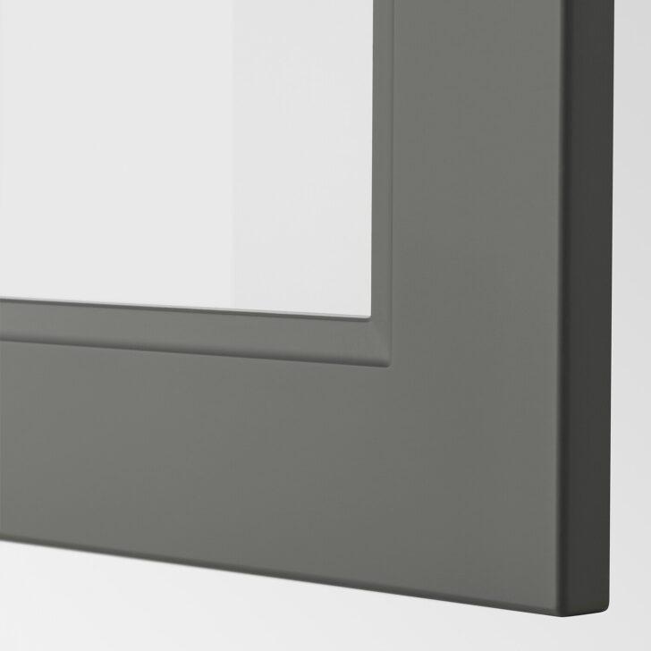 Medium Size of Axstad Vitrinentr Dunkelgrau Ikea Deutschland Küche Erweitern Unterschrank Sideboard Mit Arbeitsplatte Wellmann Aufbewahrungssystem Aufbewahrungsbehälter Wohnzimmer Ikea Küche Axstad