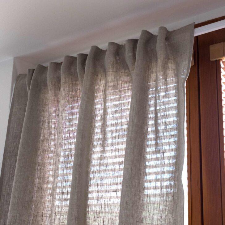 Blickdichte Gardinen Leinen Vorhang Blickdicht Natur Braun Für Schlafzimmer Wohnzimmer Die Küche Fenster Scheibengardinen Wohnzimmer Blickdichte Gardinen