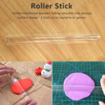 Miniküche Roller Skulptur Polymer Clay Druck Stick Diy Mini Kche Und Hause Regale Stengel Ikea Mit Kühlschrank Wohnzimmer Miniküche Roller