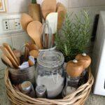 Korb Fr Wichtigsten Kchenutensilien Kchenkrbe Küche Aufbewahrung Betten Mit Bett Aufbewahrungssystem Aufbewahrungsbehälter Aufbewahrungsbox Garten Wohnzimmer Aufbewahrung Küchenutensilien