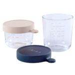 Aufbewahrungsbehälter Beaba Aufbewahrungsbehlter Set Rosa 150 Ml Blau 250 Küche Wohnzimmer Aufbewahrungsbehälter