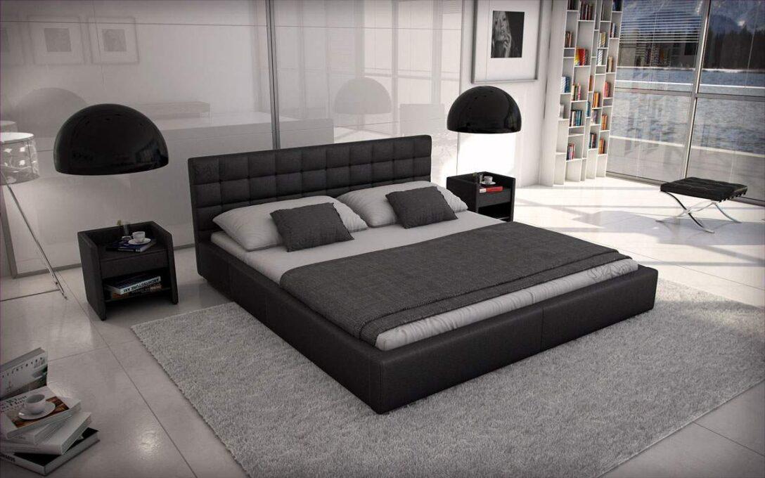 Large Size of Polsterbett 200x220 Wasserbetten Europacom Euro Miso 200 220 Cm Schwarz Bett Betten Wohnzimmer Polsterbett 200x220