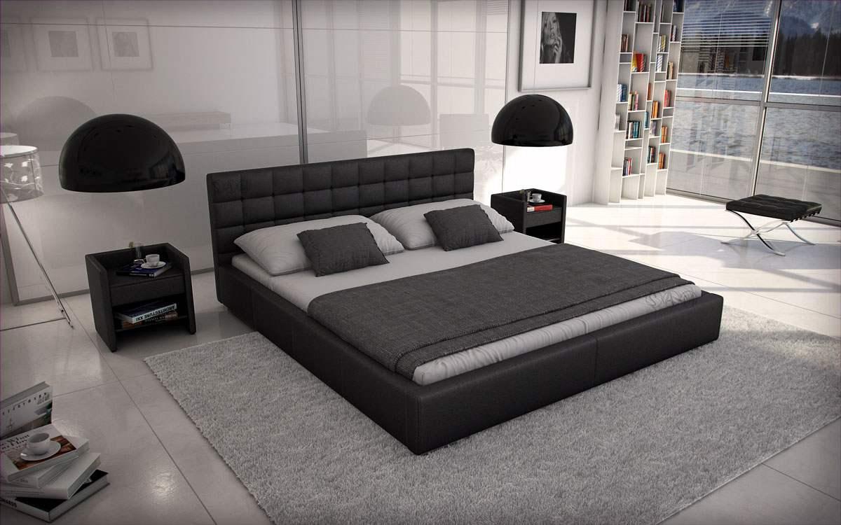 Full Size of Polsterbett 200x220 Wasserbetten Europacom Euro Miso 200 220 Cm Schwarz Bett Betten Wohnzimmer Polsterbett 200x220