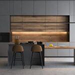 Holzküche Mit Holzboden Küche Sideboard Arbeitsplatte Bett 90x200 Lattenrost Regal Türen Schlafzimmer überbau Ausziehbett Tresen 160x200 Und Matratze Wohnzimmer Holzküche Mit Holzboden
