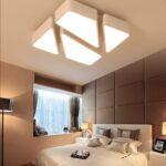 Deckenleuchte Design Led 48w Designer Lampe Dimmbar Fernbedienung Warm Schlafzimmer Deckenleuchten Bad Betten Modern Wohnzimmer Küche Industriedesign Regale Wohnzimmer Deckenleuchte Design