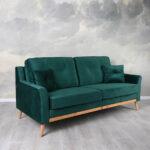 Recamiere Samt Modernes Sofa In Vielen Farben Online Kaufen Mit Wohnzimmer Recamiere Samt