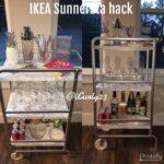 Sunnersta Ikea Wohnzimmer Sunnersta Ikea Mini Kitchen Container Hack Utility Cart Rail Bar Diy Silver Küche Kaufen Miniküche Sofa Mit Schlaffunktion Betten Bei Kosten Modulküche