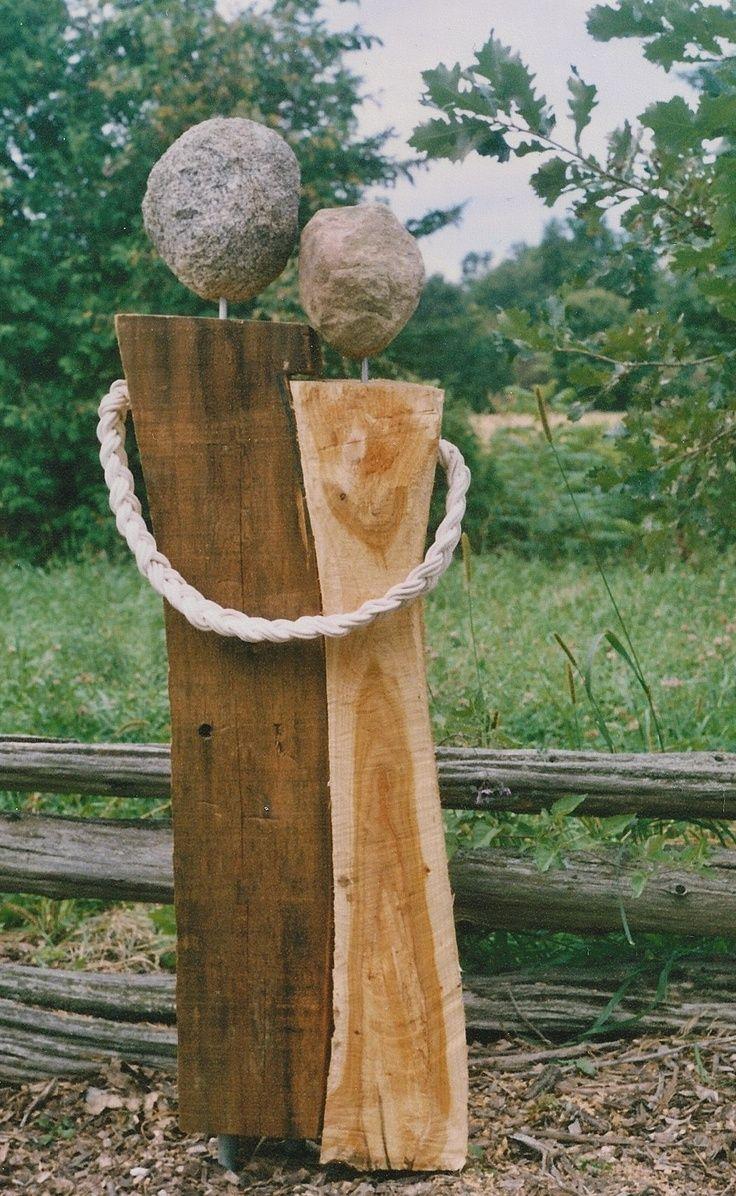 Full Size of Gartenskulpturen Holz Gartenskulptur Stein Aus Und Glas Selber Machen Garten Skulpturen Kaufen Pin Von Cornelia Hunziker Auf Basteln Gartendeko Esstische Wohnzimmer Gartenskulpturen Holz