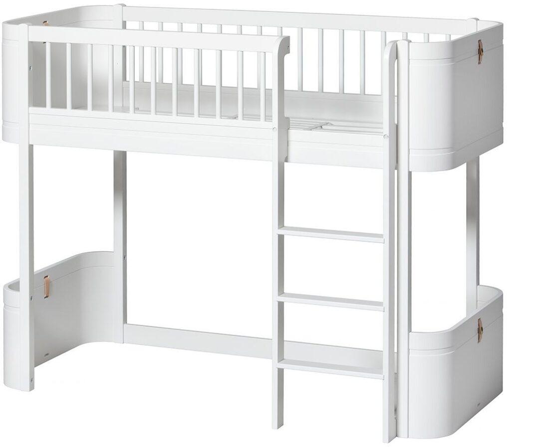 Large Size of Wood Mini Halbhohes Hochbett Oliver Furniture Kleine Fabriek Bett Wohnzimmer Halbhohes Hochbett