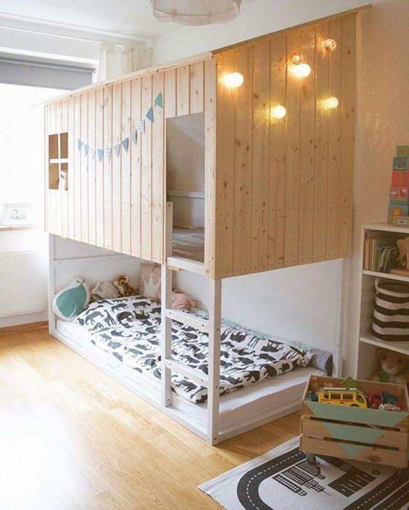 Full Size of Kura Bunk Bed Hack Storage Ikea Underneath Montessori 25 Ideas Hacks In 2020 Houszed Wohnzimmer Kura Hack
