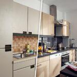 Kchenfronten Erneuern Alt Gegen Neu Vollholzküche Massivholzküche Holzküche Wohnzimmer Holzküche Auffrischen