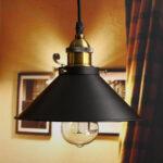 Befestigung Retro Industrial Iron Vintage Schlafzimmer Wohnzimmer Küche Led Bad Wohnzimmer Vintage Deckenleuchte