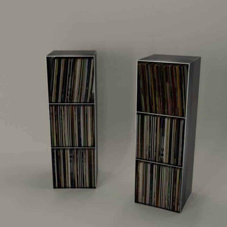 Medium Size of Regalwürfel Metall Schallplatten Regal Classic 018 Schwarz Regale Weiß Bett Wohnzimmer Regalwürfel Metall