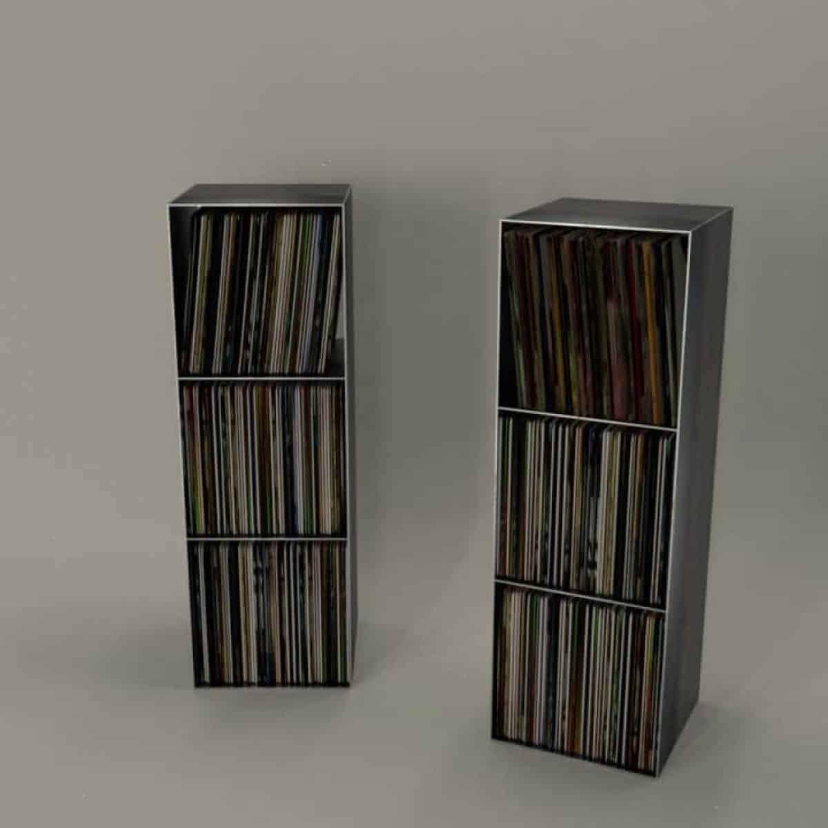 Full Size of Regalwürfel Metall Schallplatten Regal Classic 018 Schwarz Regale Weiß Bett Wohnzimmer Regalwürfel Metall