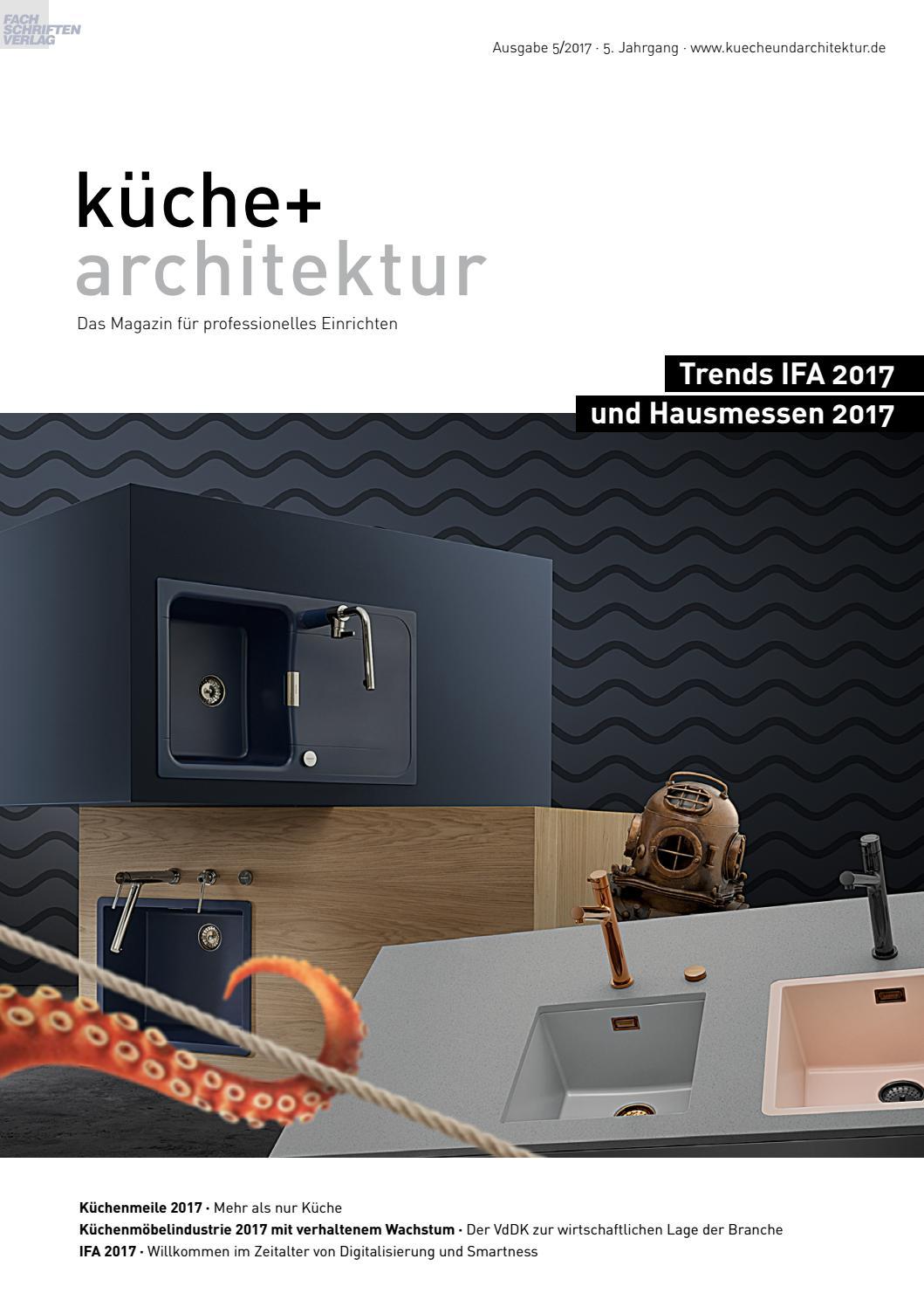 Full Size of Kche Architektur 5 2017 By Fachschriften Verlag Velux Fenster Ersatzteile Möbelgriffe Küche Wellmann Griffe Küchen Regal Wohnzimmer Wellmann Küchen Ersatzteile Griffe