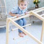 Kidwood Klettergerüst 1 Klettergerst Rakete Sport Set Aus Holz Fr Indoor Garten Wohnzimmer Kidwood Klettergerüst