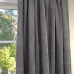 Vorhang Suna Samt Kord Grau 140x250 Cm 2 Stck Blickdicht Fenster Gardinen Für Schlafzimmer Küche Wohnzimmer Die Scheibengardinen Wohnzimmer Blickdichte Gardinen