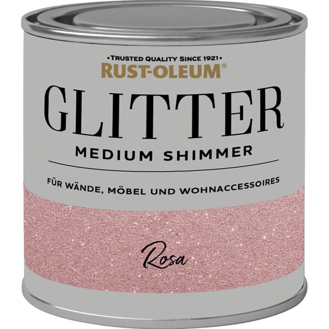 Large Size of Wandfarbe Rosa Rust Oleum Glitzerfarbe Medium Shimmer 250 Ml Kaufen Bei Obi Küche Wohnzimmer Wandfarbe Rosa