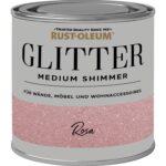 Wandfarbe Rosa Rust Oleum Glitzerfarbe Medium Shimmer 250 Ml Kaufen Bei Obi Küche Wohnzimmer Wandfarbe Rosa