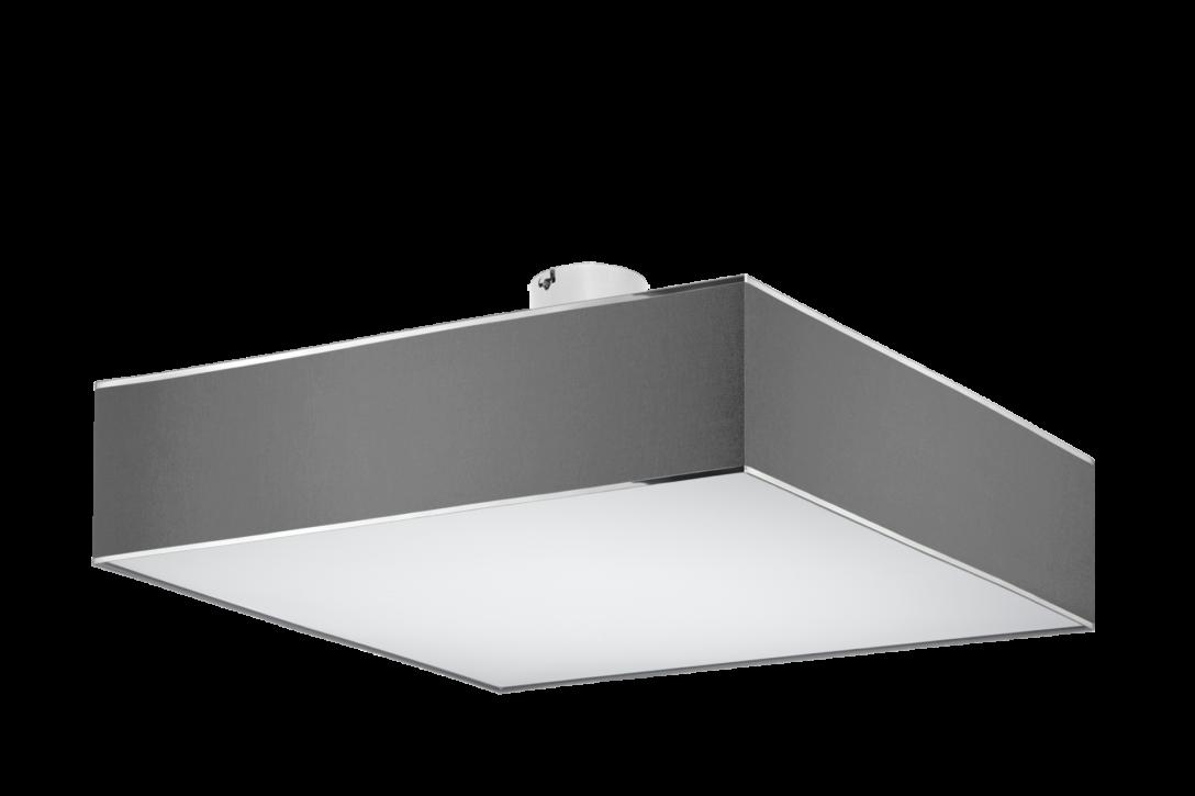 Large Size of Deckenleuchte Flach Modern Grau Qube Stone Deckenleuchten Modernes Sofa Moderne Esstische Tapete Küche Bett Flachdach Fenster Wohnzimmer Bilder Led Wohnzimmer Deckenleuchte Flach Modern