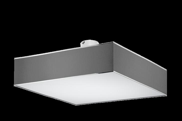 Medium Size of Deckenleuchte Flach Modern Grau Qube Stone Deckenleuchten Modernes Sofa Moderne Esstische Tapete Küche Bett Flachdach Fenster Wohnzimmer Bilder Led Wohnzimmer Deckenleuchte Flach Modern