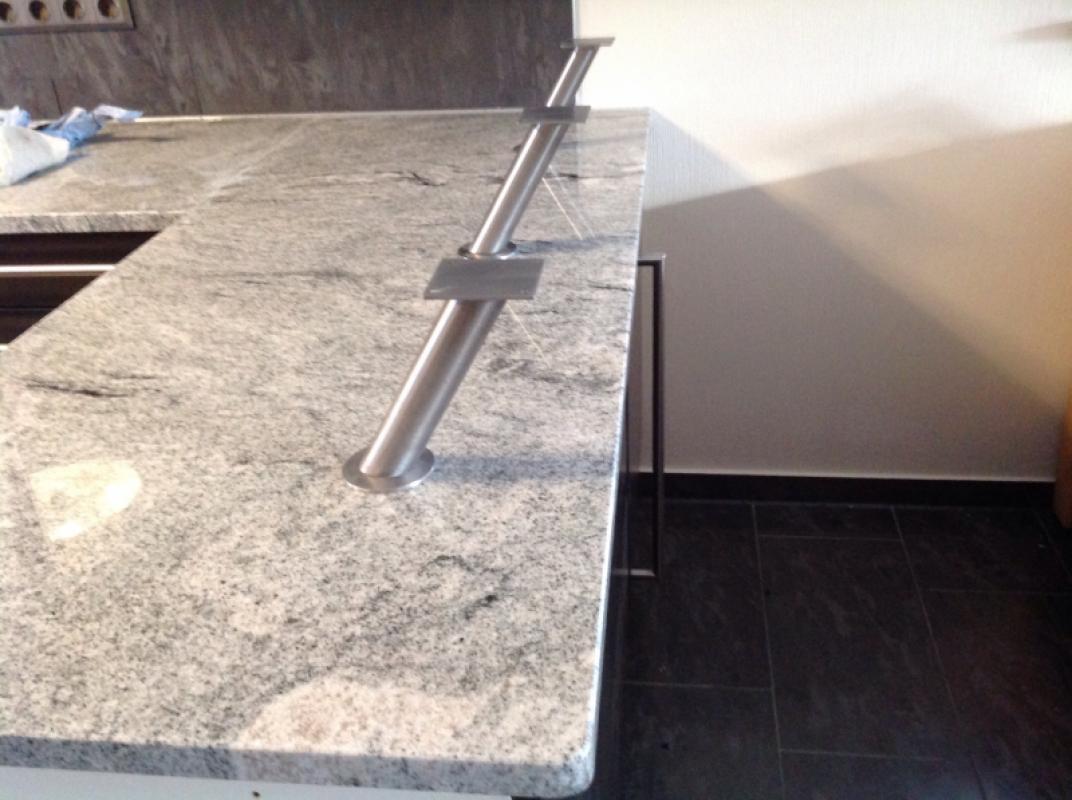 Full Size of Granit Arbeitsplatte Dortmund Viscont White Arbeitsplatten Küche Sideboard Mit Granitplatten Wohnzimmer Granit Arbeitsplatte