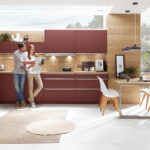 Nobilia Besteckeinsatz 80 60 Cm Holz 100 Move Trend 90 Mit Messerblock Kchen Einbauküche Küche Wohnzimmer Nobilia Besteckeinsatz