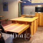 Kücheninsel Mit Esstisch I Tpfele Kchenblock Und Freitragender Tisch Youtube Singleküche E Geräten Regal Türen Sofa Schlaffunktion Günstig Landhausstil Wohnzimmer Kücheninsel Mit Esstisch