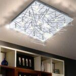 Deckenlampen Wohnzimmer Modern Deckenlampe Luxpro Deckenleuchte Lampe Leuchte Mesh Kristall Led Fototapeten Deckenleuchten Vorhänge Esstisch Liege Beleuchtung Wohnzimmer Deckenlampe Wohnzimmer Modern