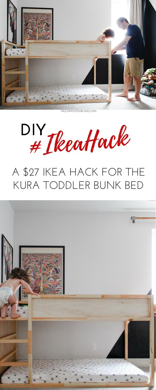 Full Size of Kura Hack Bed House Ikea Storage Underneath Hacks Pinterest Bunk Drawers Montessori Floor Instructions Diy Toddler Muchmostdarling Wohnzimmer Kura Hack
