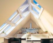 Küche Dachgeschoss