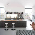 Küche Betonoptik Holzboden Kche Hcker Wandfarbe Roller Mlltonne L Sockelblende Erweitern Rückwand Glas Mobile Pino Modern Weiss Polsterbank Einrichten Wohnzimmer Küche Betonoptik Holzboden