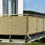 Trennwand Balkon Sondereigentum Obi Glas Holz Ikea Metall Sichtschutz Plexiglas Garten Glastrennwand Dusche Wohnzimmer Trennwand Balkon