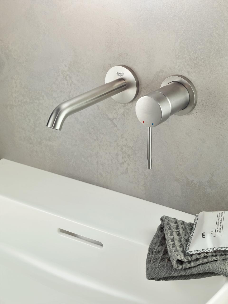Full Size of Essence Farben Grohe Colors Wasserhahn Küche Dusche Thermostat Wandanschluss Bad Für Wohnzimmer Grohe Wasserhahn