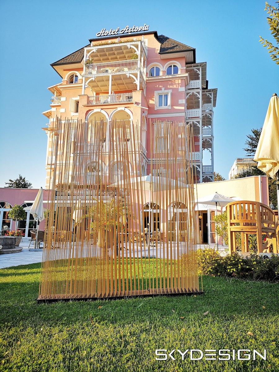 Full Size of Paravent Bambus Balkon Sichtschutz Im Garten Skydesignnews Bett Wohnzimmer Paravent Bambus Balkon
