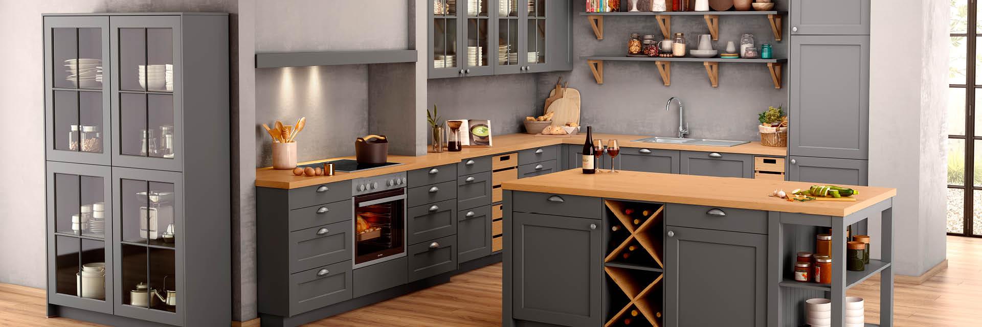 Full Size of Küchen Rustikal Landhauskchen Esstisch Regal Rustikaler Holz Küche Rustikales Bett Wohnzimmer Küchen Rustikal
