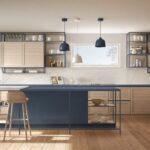 Offenes Regal Küche Blaue Kchen Kchendesignmagazin Lassen Sie Sich Inspirieren Auf Raten Modulküche Apothekerschrank Müllsystem Badezimmer Einbauküche Wohnzimmer Offenes Regal Küche