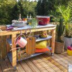 Outdoor Kche Aus Holz Bauen Tipps Zur Planung Obi Mobile Küche Wohnzimmer Mobile Outdoorküche