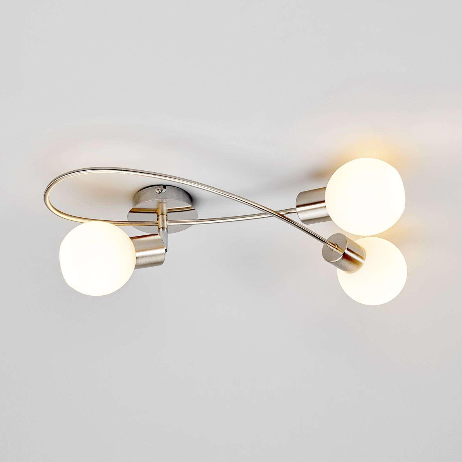 Full Size of Led Wohnzimmerlampe Wohnzimmerlampen Modern Lampe Dimmbar Per Schalter Lampen Wohnzimmer Amazon Mit Fernbedienung Obi E27 Verbinden Bauhaus Deckenlampe Elaina Wohnzimmer Led Wohnzimmerlampe