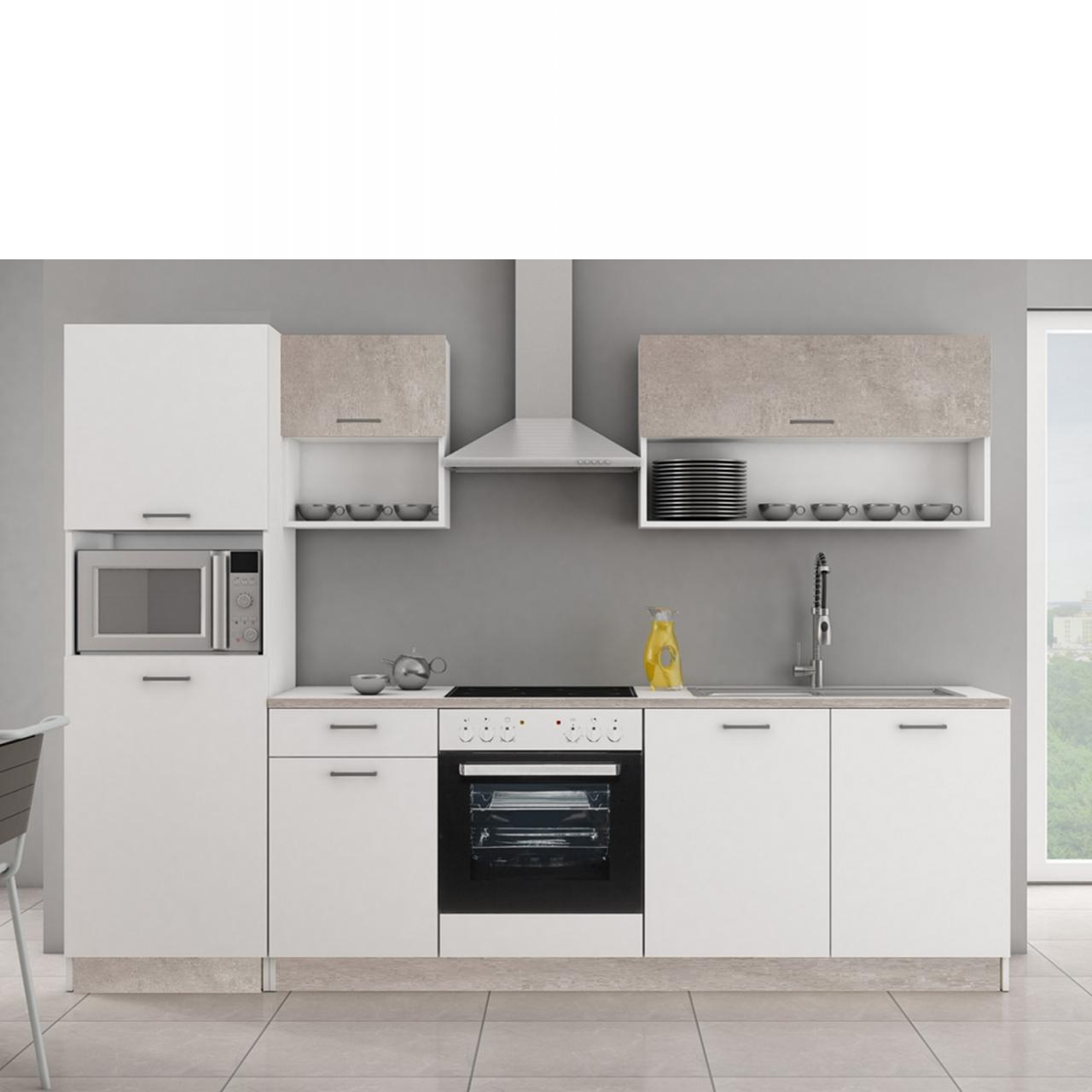 Full Size of Arbeitstisch Küche Industriedesign Kaufen Tipps Wandverkleidung Erweitern Was Kostet Eine Neue Beistelltisch Blende Küchen Regal Niederdruck Armatur Led Wohnzimmer Küche Grau Betonoptik