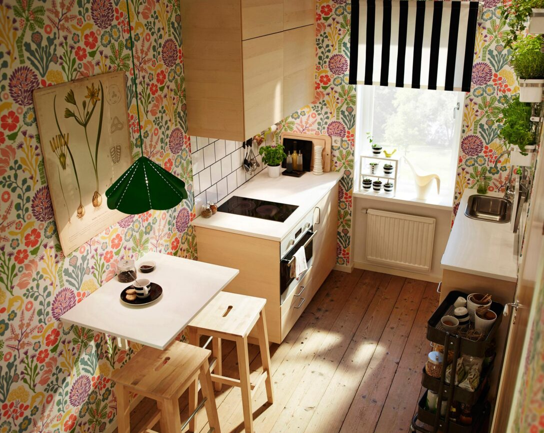 Large Size of Single Küche Ikea Kche Bilder Ideen Couch Rosa Armaturen Hochglanz Grau Mit Elektrogeräten Tapeten Für Die Betten 160x200 Modulküche Erweitern Wohnzimmer Single Küche Ikea