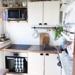 Küche Kleiner Raum Kleine Kchen Grer Machen So Gehts Ikea Kosten Schrankküche Modulküche Holz Müllschrank L Mit Elektrogeräten Sitzecke Günstig Wohnzimmer Küche Kleiner Raum