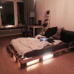 Bauanleitung Bauplan Palettenbett Wohnzimmer Bauanleitung Bauplan Palettenbett Europalette Bett Paletten 200x200 Europaletten Bauen
