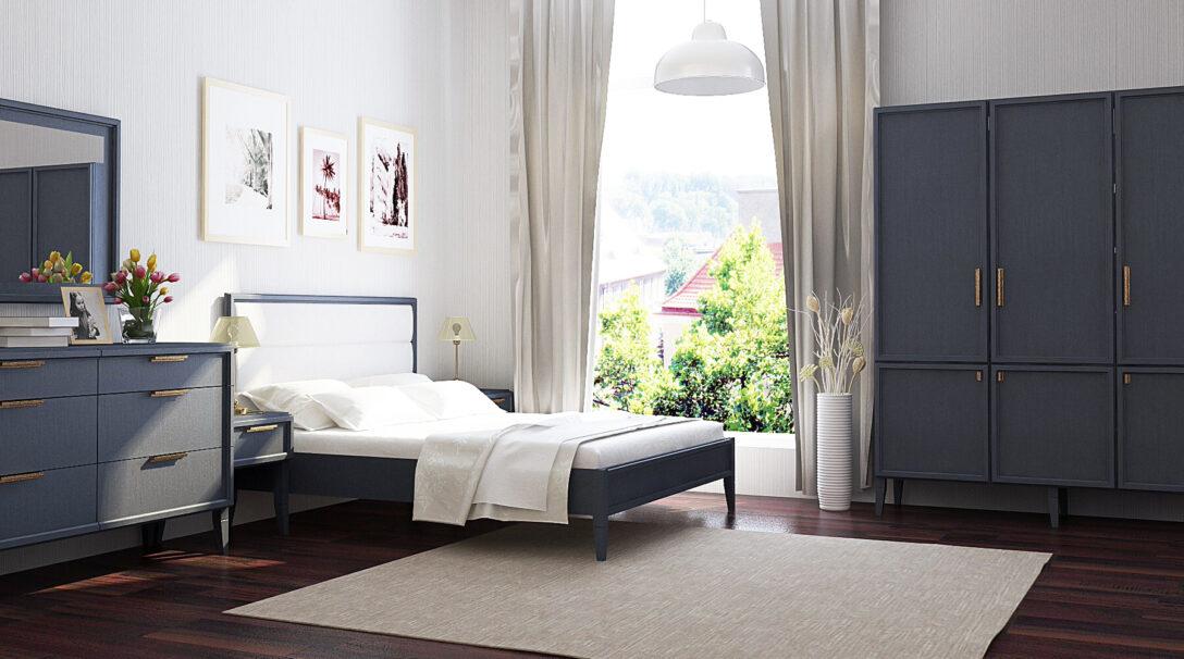 Large Size of Schlafzimmer Komplett Modern Charli Moderne Schlafzimmermbel In Grau Günstige Duschen Landhausstil Weiß Küche Weiss Schranksysteme Wandlampe Landhaus Wohnzimmer Schlafzimmer Komplett Modern