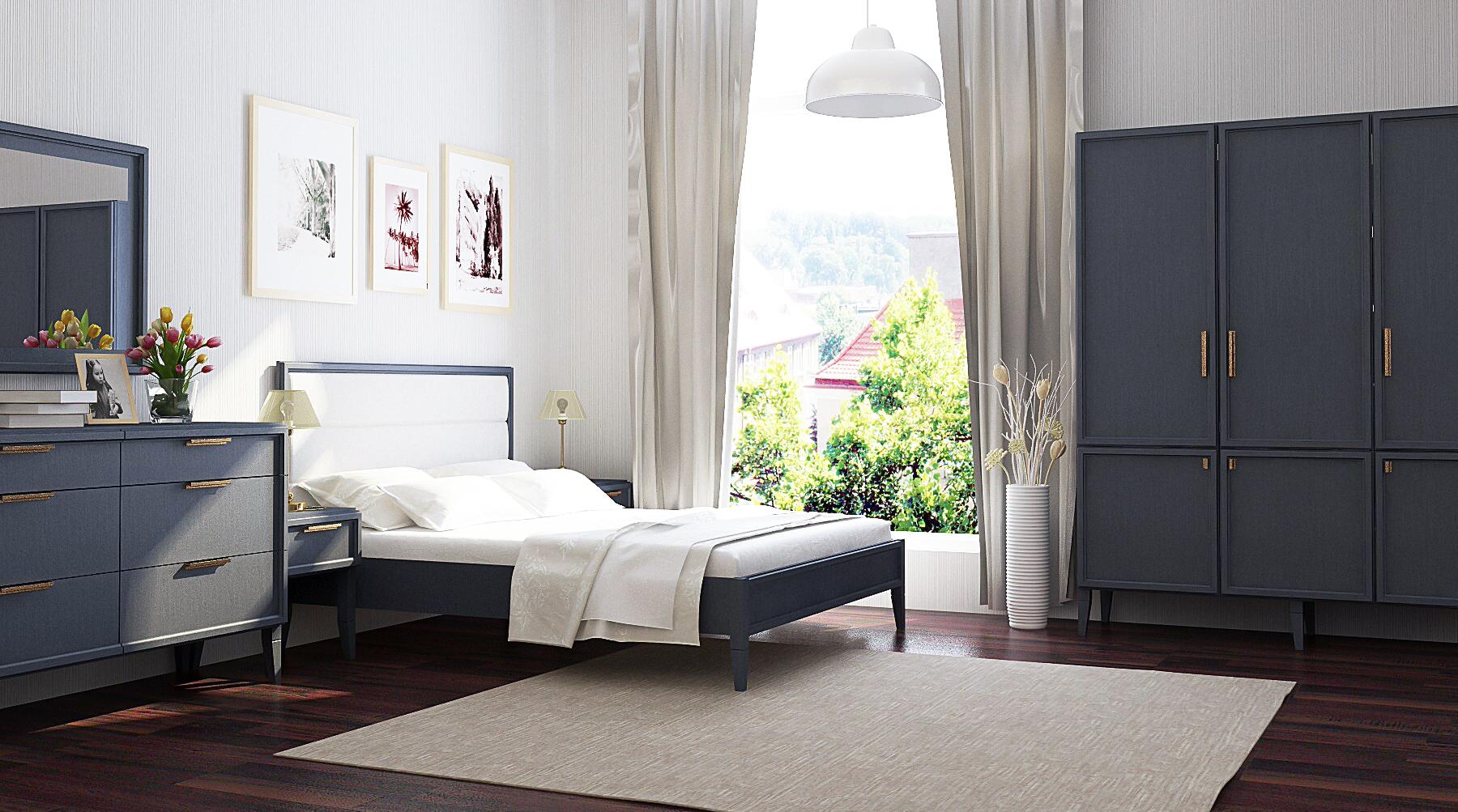 Full Size of Schlafzimmer Komplett Modern Charli Moderne Schlafzimmermbel In Grau Günstige Duschen Landhausstil Weiß Küche Weiss Schranksysteme Wandlampe Landhaus Wohnzimmer Schlafzimmer Komplett Modern