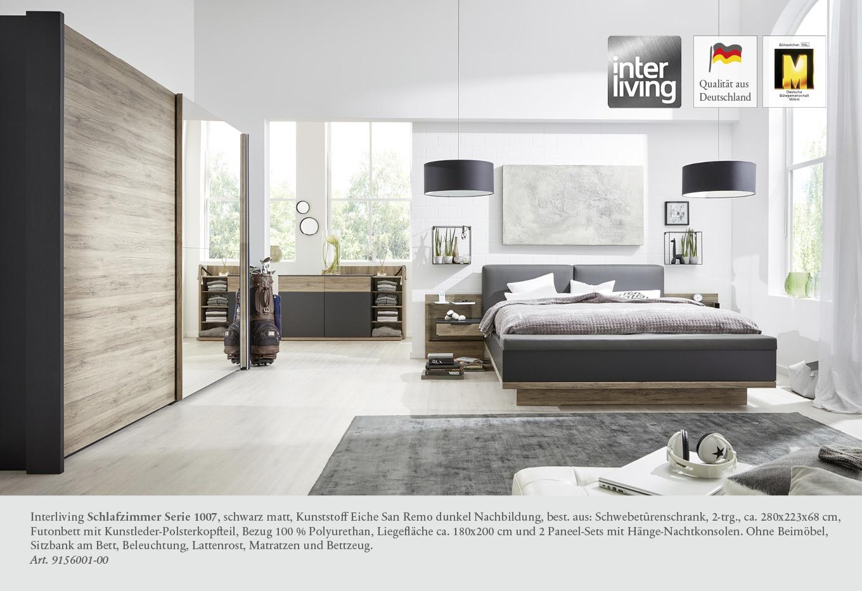 Full Size of Schlafzimmer Komplett Schwarz Hochglanz Schwarzeiche Weiss Luxus Set Mit Matratze Und Lattenrost Wandbilder Deckenleuchten Teppich Komplette Küche Kommoden Wohnzimmer Schlafzimmer Komplett Schwarz