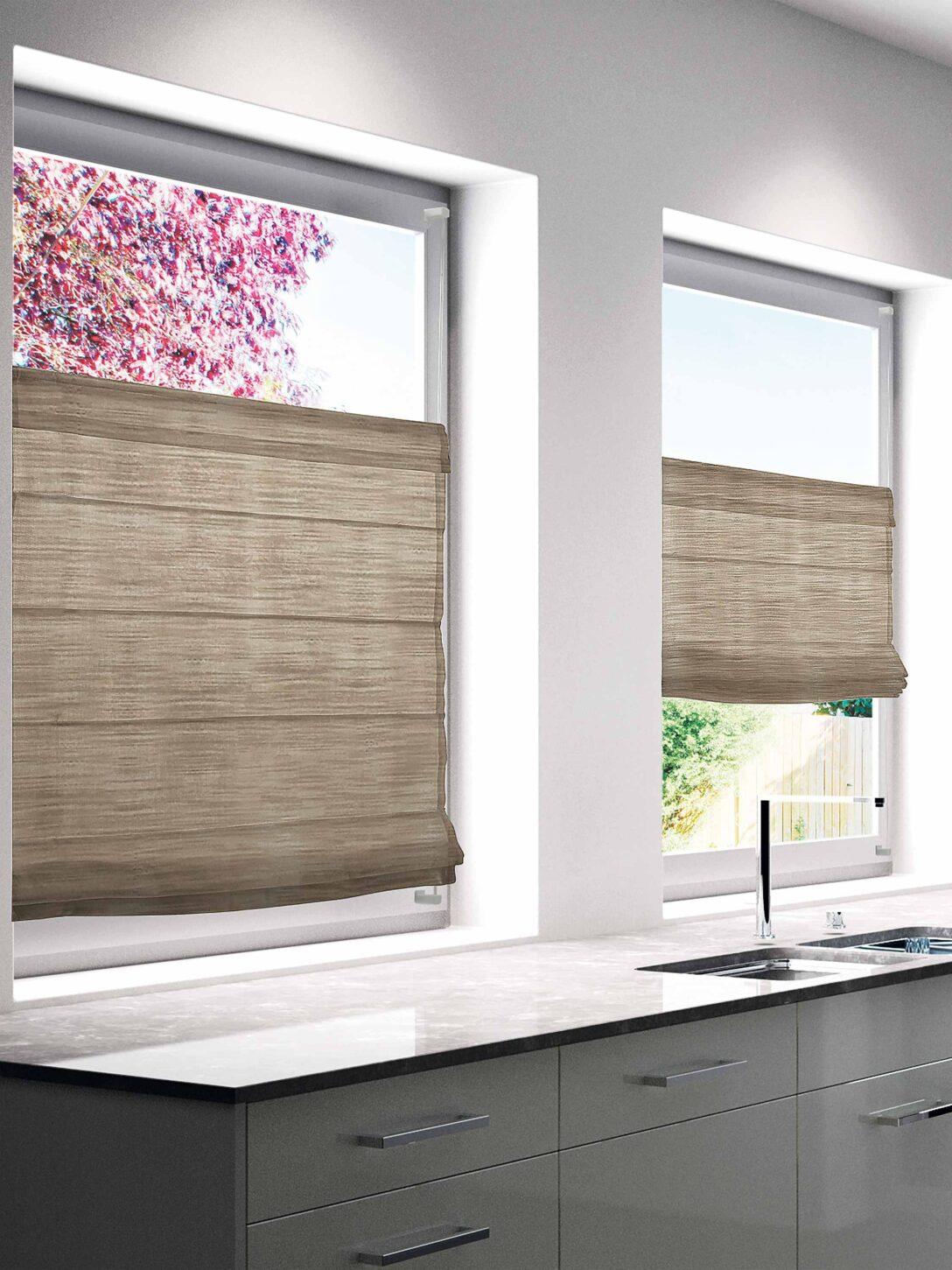 Large Size of Faltrollo Beige 60x130cm Bh 60x130 Cm Badezimmer Ohne Fenster Raffrollo Küche Wohnzimmer Raffrollo Küchenfenster